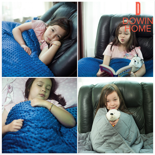 Weighted Blanket For Kids With Removable Cover