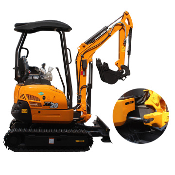 Hot sale mini bagger XN20 2t excavator