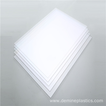 Heat resistance polycarbonate clear film protective sheets