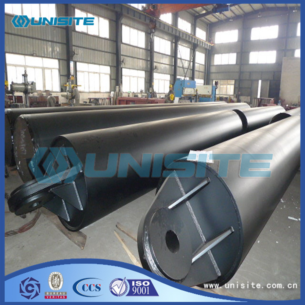Floating steel dredging pipelines
