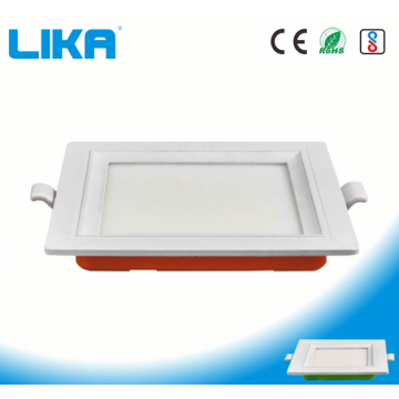 Rectangular LED panel light for home bedroom