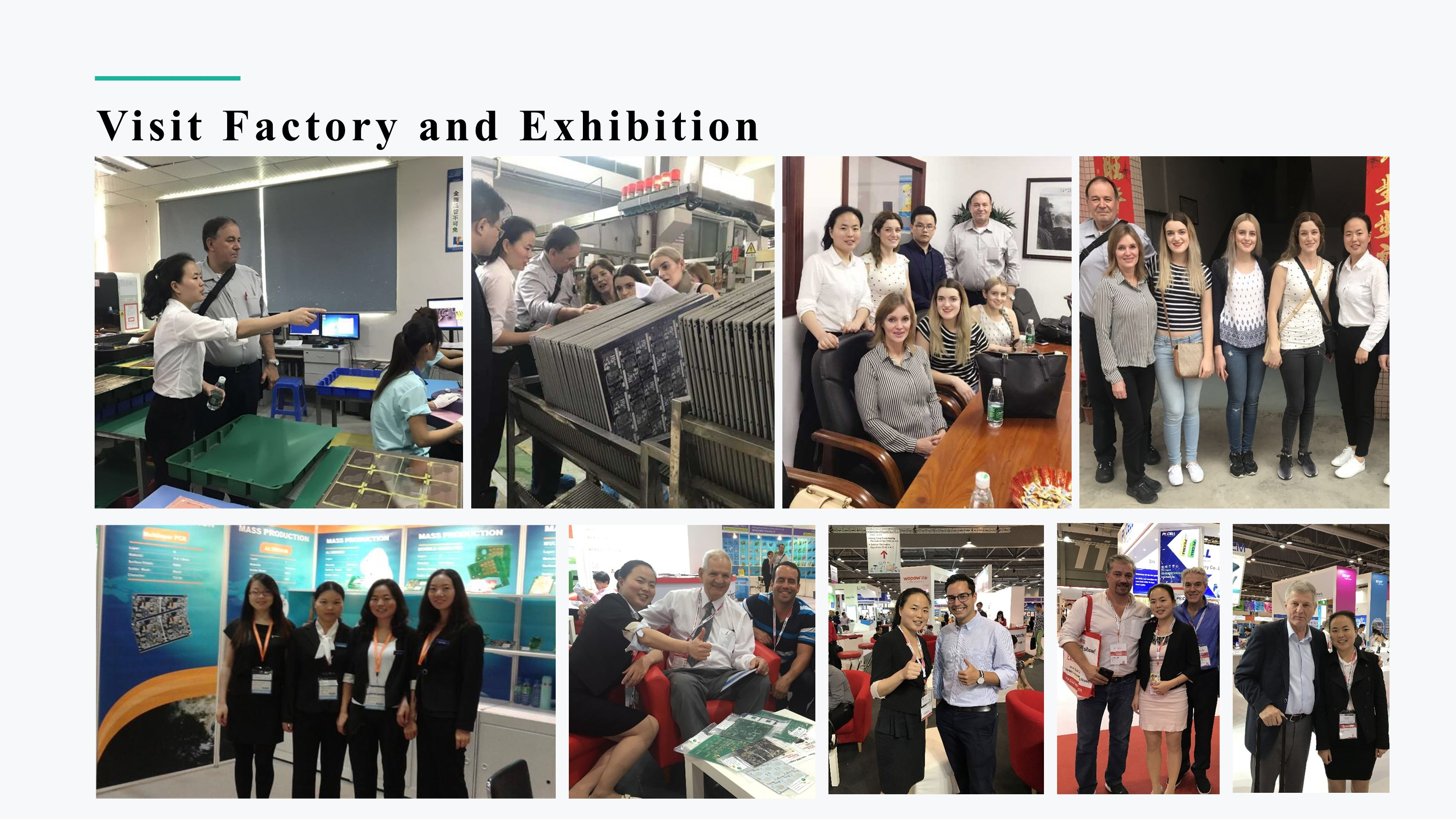 Visit Factory and Exhibition