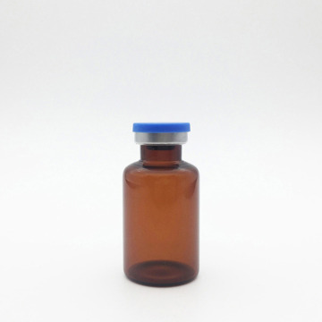 30ml Amber Sterile Evacuated Vials