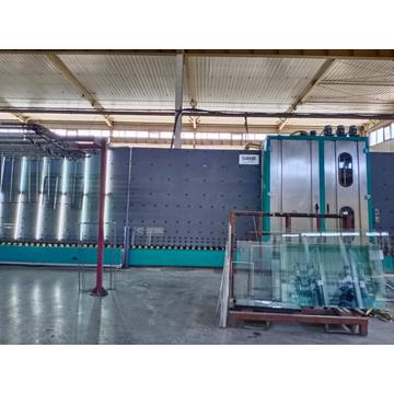 Double Glass Pressing And Washing Machine