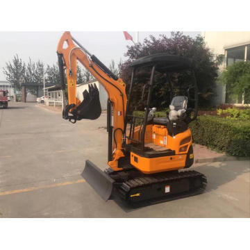 2ton mini hydraulic excavator machine digger machine