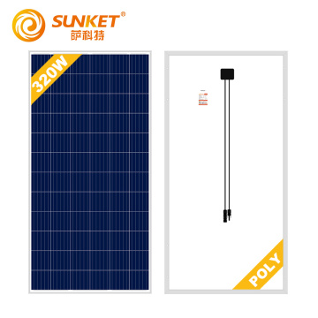 300w 315w 72 Cells 5BB Solar Poly Panel