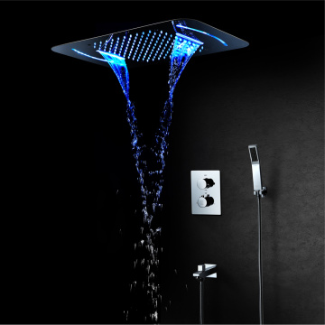 LED Shower Faucet Bathroom Shower Set Thermostatic