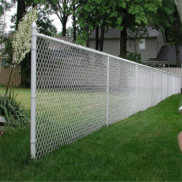High quality hot dip galvanized chain link fence
