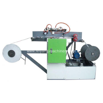 cold glue flat paper rope making machine