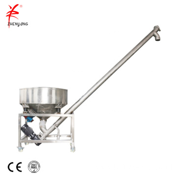Grain screw transport conveyor system