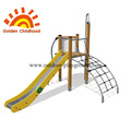 Slide And Climbing Outdoor Playground Equipment For Sale