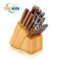 17pcs Cutlery Stainless Steel Knives set