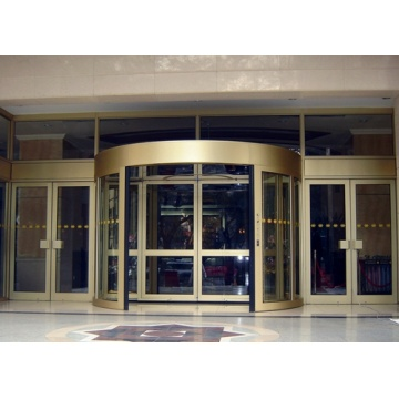 Commercial Two-wing Revolving Doors for Shopping Malls