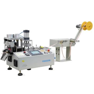Automatic Rotating Knife Tape Cutter with Hole Puncher