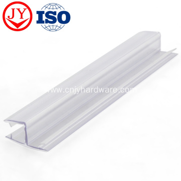 Shower glass rubber waterproof seal strip
