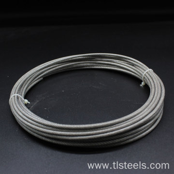 Factory Price 1.2mm Stainless Steel Wire Rope 7*7