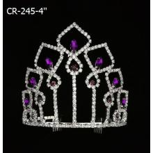 Elegant Colorful Queen Pageant Crowns CR-245