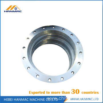Aluminum ANSI forged threaded flange