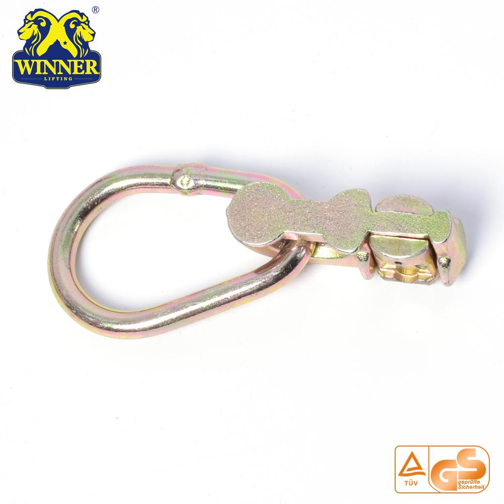 Top Quality Yellow Galavanized Double Stud Fitting With Oval Ring