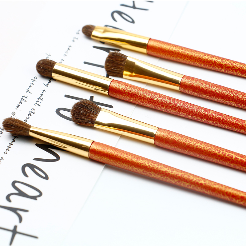 Beautiful Handle Makeup Eye Brush Set