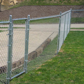 Cheap Price Galvanized Coated Chain Link Fence