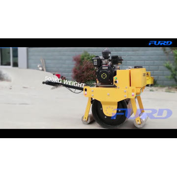 0.5 Ton Single Drum Hand Road Roller (FYL-700)