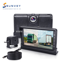 Dash Camera DVR Monitor i Backup Camera