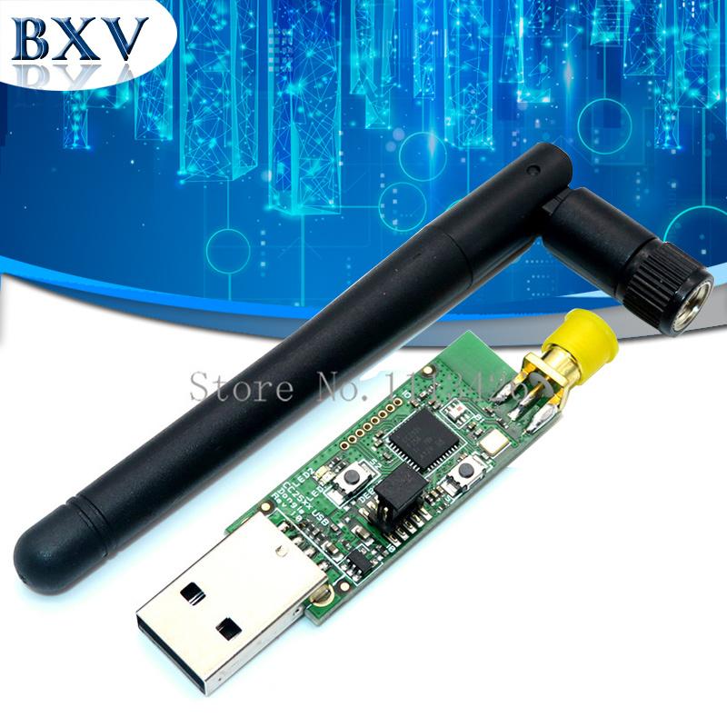 Wireless Zigbee CC2531 CC2540 Sniffer Bare Board Packet Protocol Analyzer Bluetooth Module+ antenna USB Interface Dongle Capture