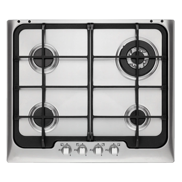 Stainless Steel Electrolux Gas Cooktop 60cm