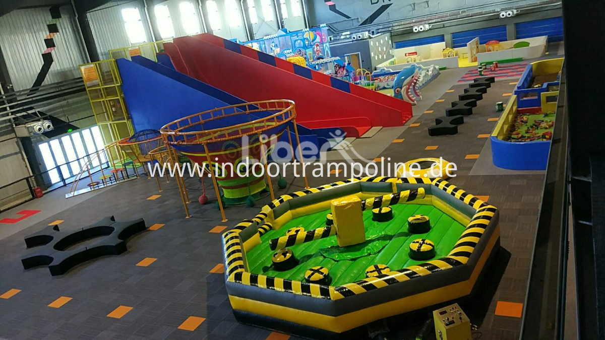 kids trampoline park equipment