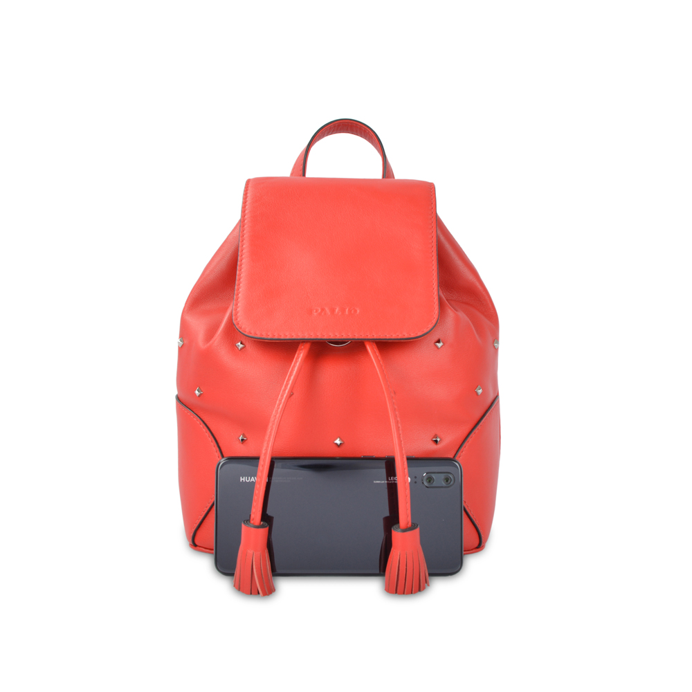 top high quality elegant design fashion cow real luxury backpack