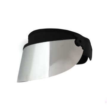 Silver sport visor golf sun protection visor hat