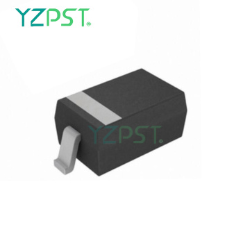 High peak pulse current capability 4.5V SOD-323 package ESD