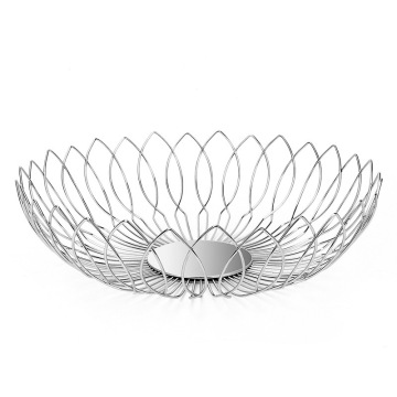 Stainless Steel Wire Fruit Basket for Bread Vegetable