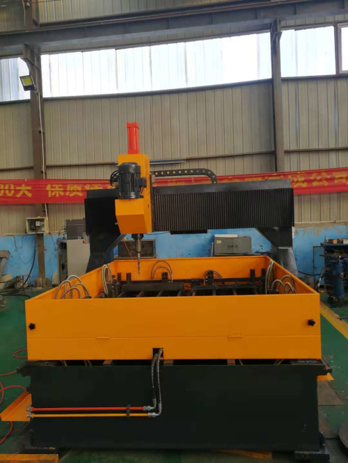 CNC Steel Iron Plate Deep Hole Drilling Machine