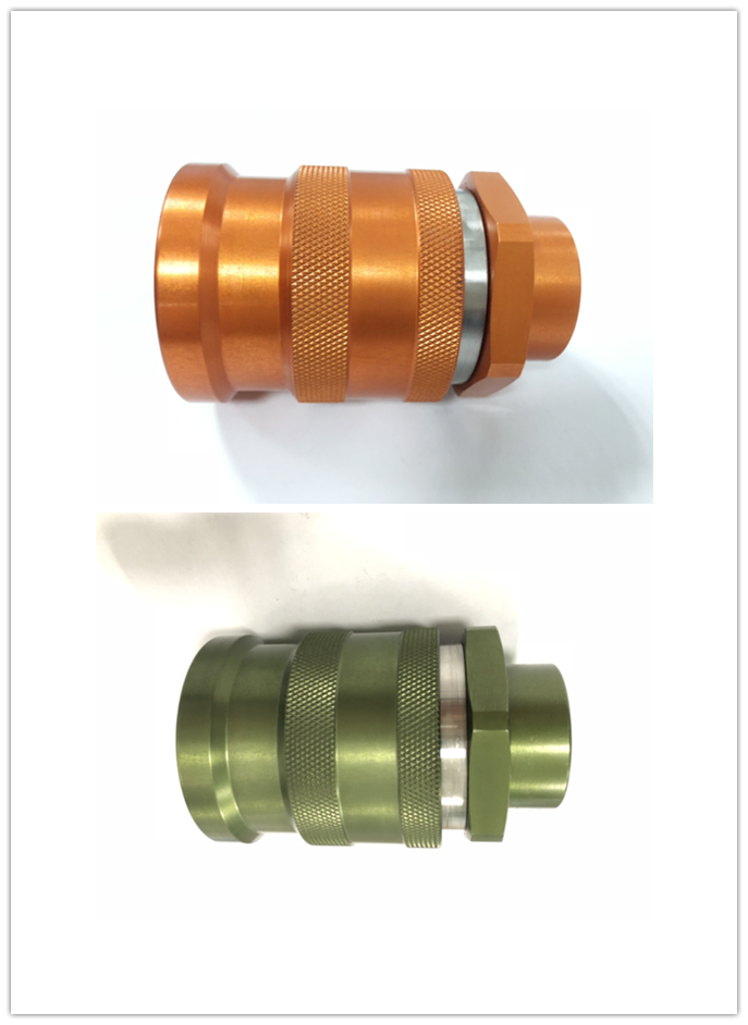 Green FF0B Female ISO16028 Quick Coupling