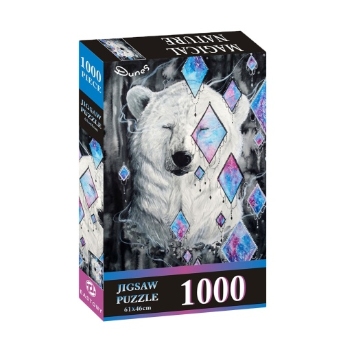 GIBBON 1000pcs Space Traveler Puzzle Games Educational Toys