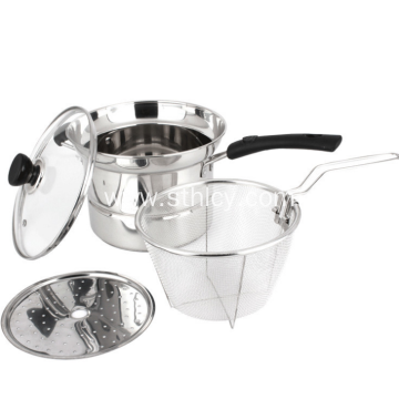 Non Magnetic Stainless Steel Multipurpose Pot