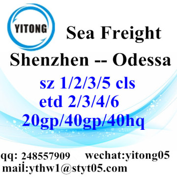 Shenzhen Sea Freight Shipping Agent to Odessa