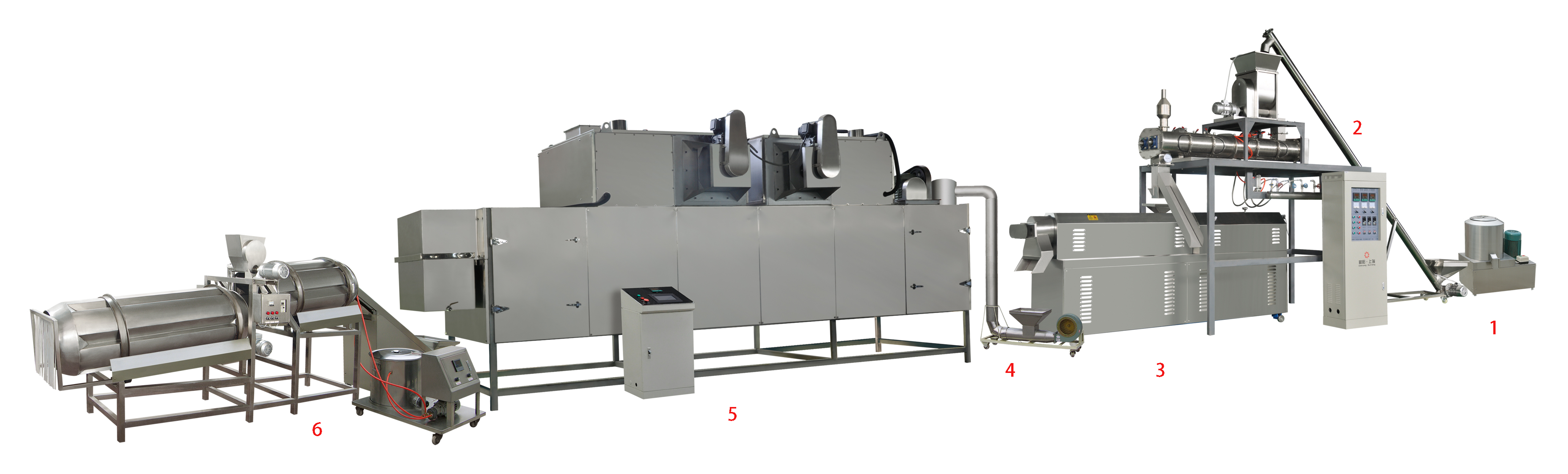 PetDog food processing plant dog feed machine