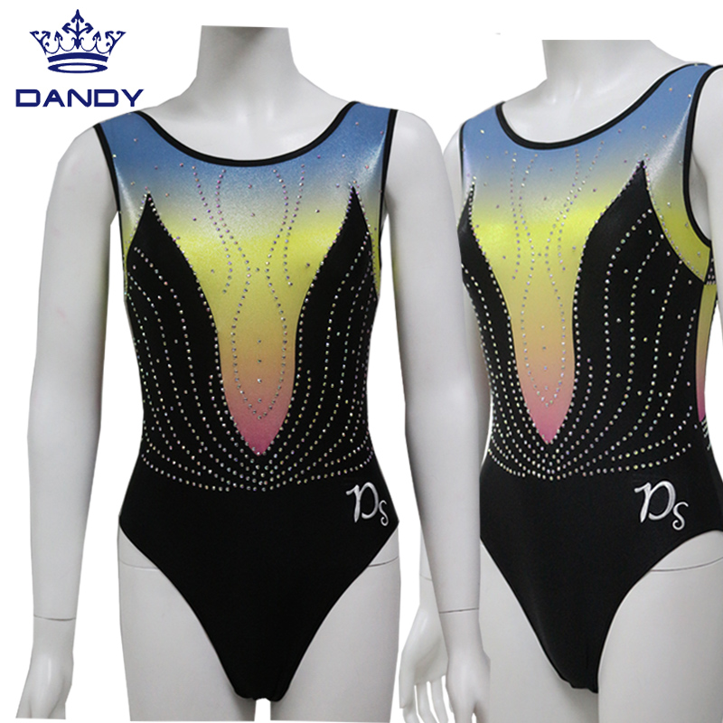 sleeveless leotard gymnastics