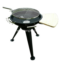Huge Height  Adjustable Charcoal BBQ Grill