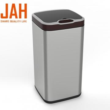 Square Stainless Steel Smart Induction Sensor Trash Bin