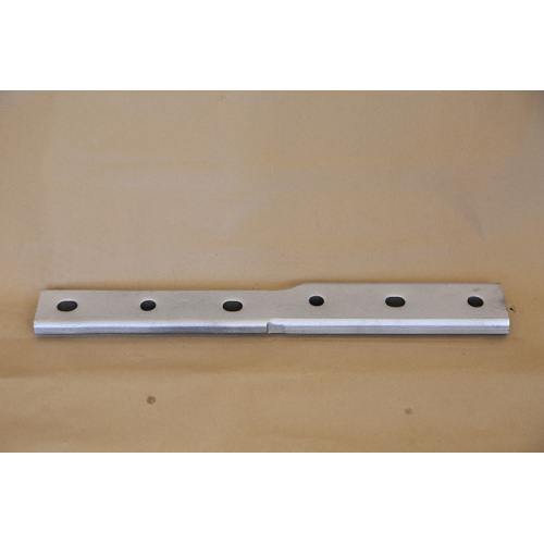 UIC standard glued insulated fish plate