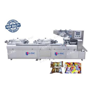 Three Servo Motors High Speed Pillow Packing Machine