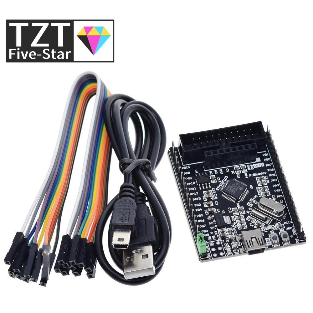 TZT stm32f103c8t6 stm32f103 stm32f1 stm32 system board learning board evaluation kit development board