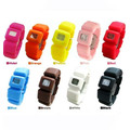 lovely pattern printing silicone band watches