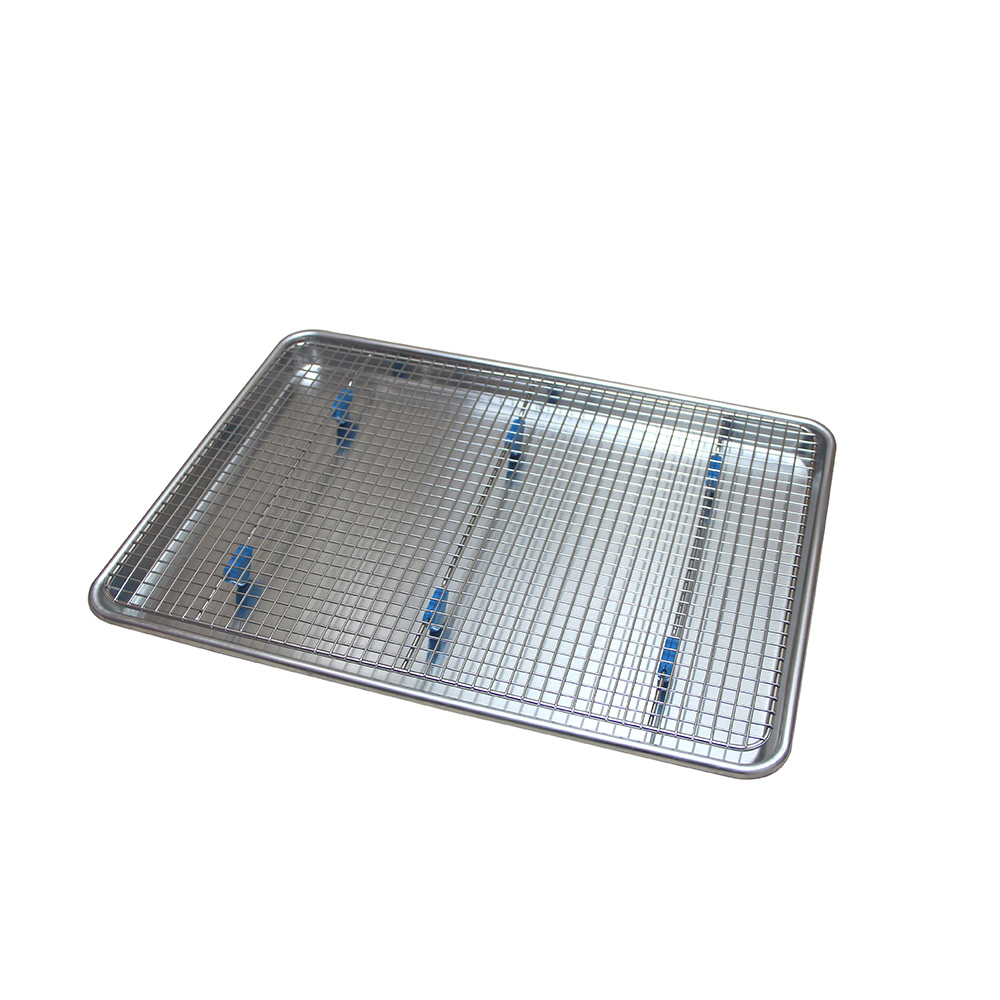 Aluminum Pan With Rack