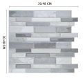 Self Adhesive Tile Wallpaper Mosaic Peel and Stick