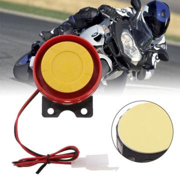Red Multi-tone Loud Air Horn Car Siren Speaker For Motorcycle Raid Siren Electric Horn Motocycle Accessories Alarm Red Air Horn